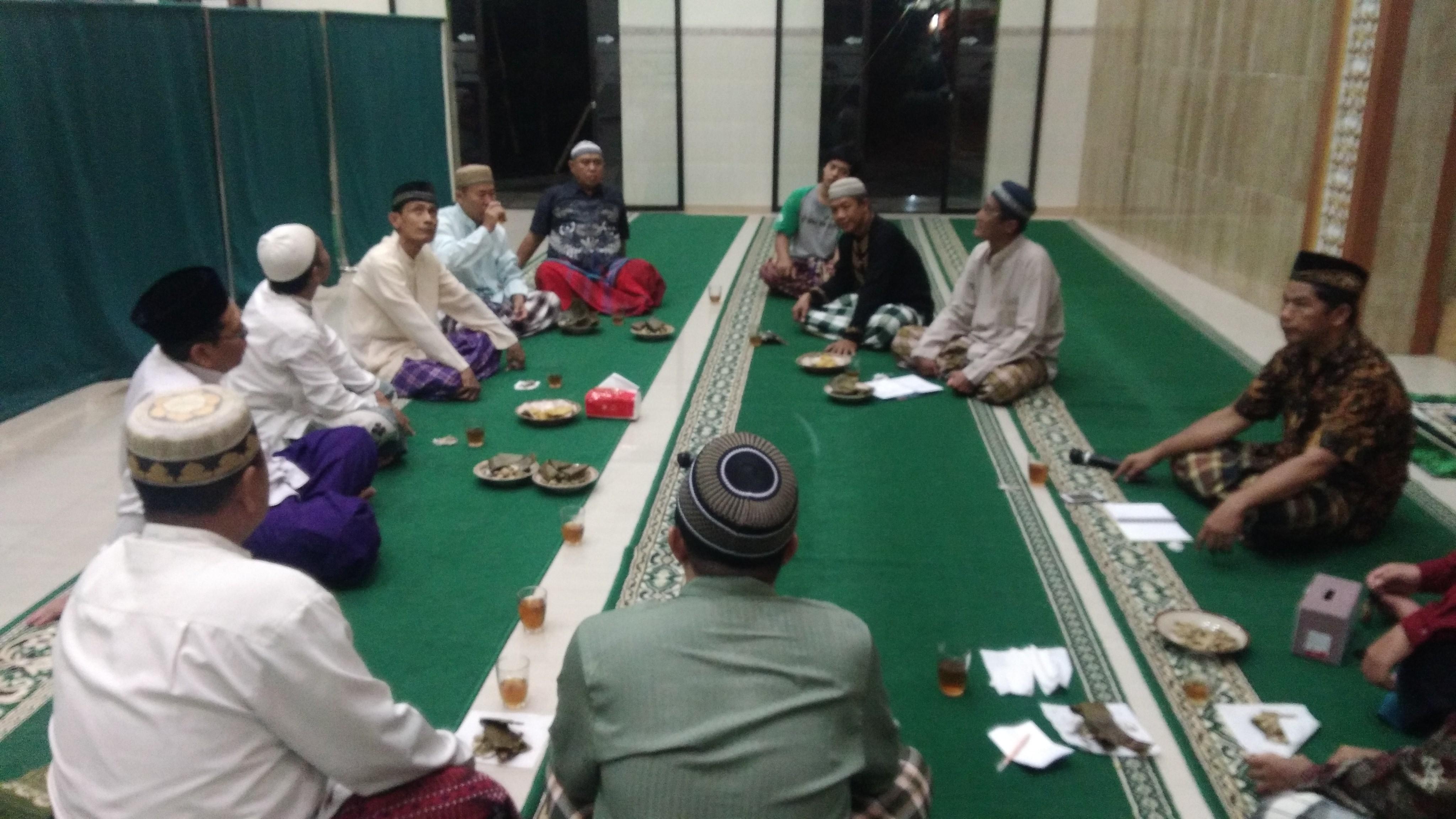 Rapat  ke 2 persiapan menyambut bulan suci Ramadhan 1441 H