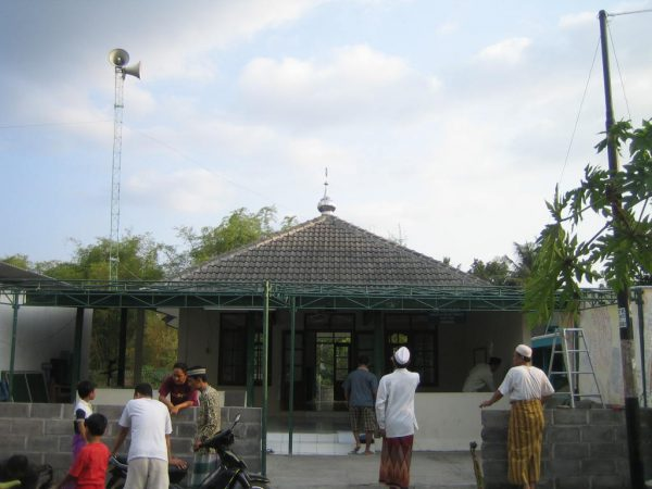 Cikal bakal masjid Al Ikhlas CRM