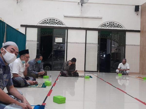 Rapat persiapan Idul Adha 1442 H Masjid Al Ikhlas