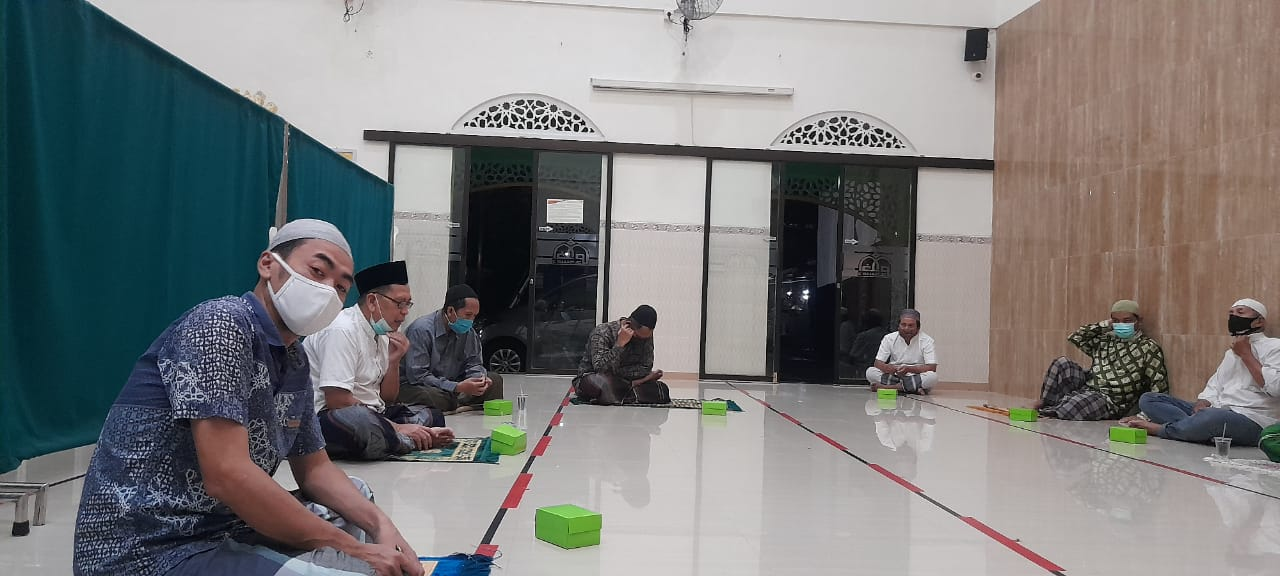 Hasil musyawarah persiapan Ramadan 1442H dan Regenerasi Ketua Takmir masjid Al Ikhlas periode 2021 - 2023 M