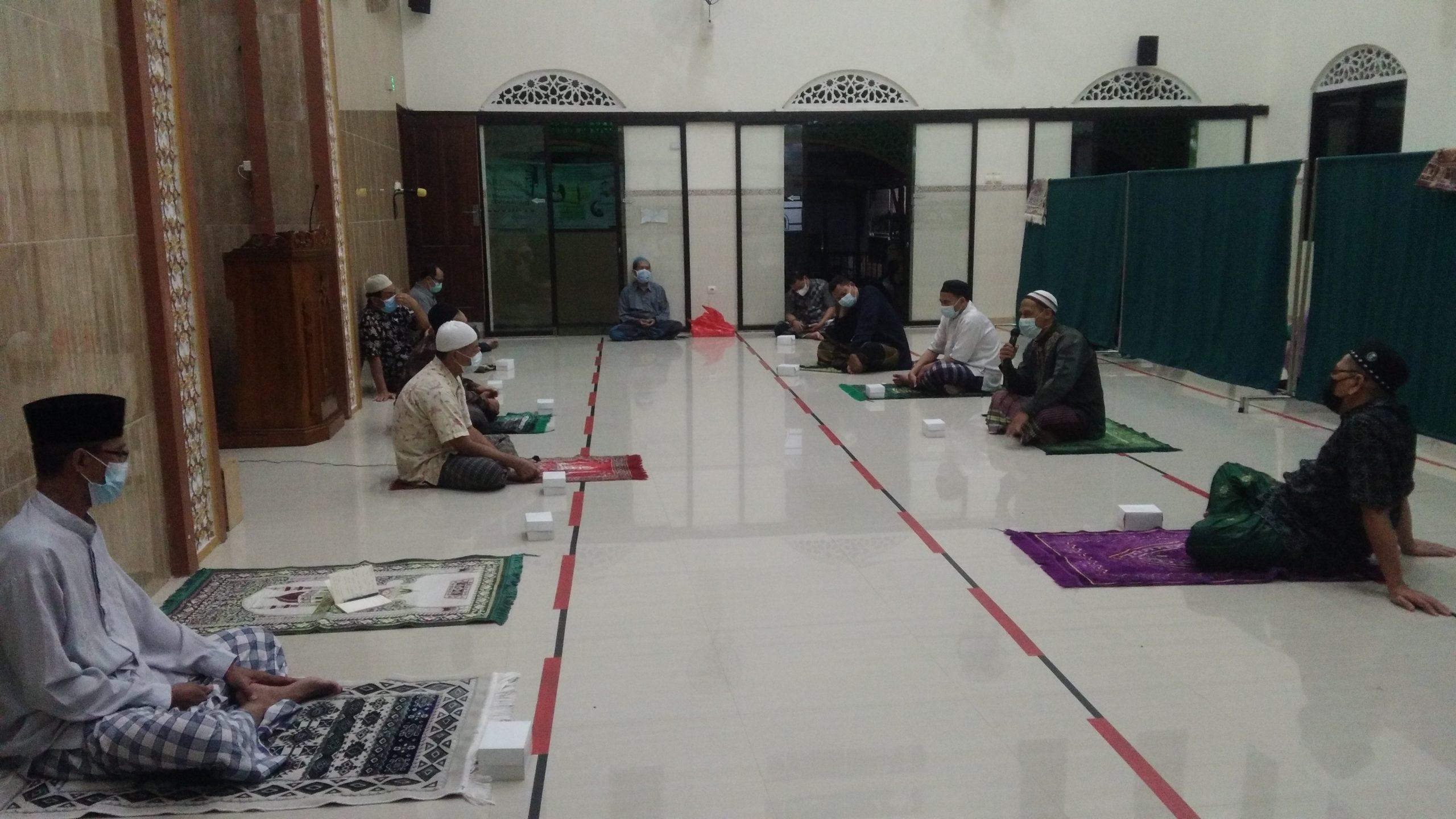 Rapat ke 3 persiapan Idul Adha 1442 H